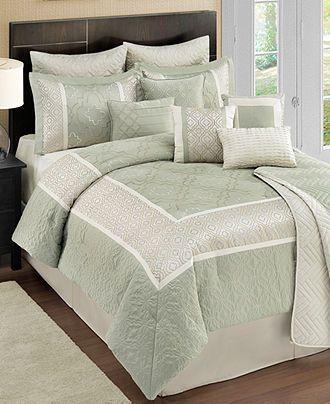 Kody 12 Piece Comforter Sets Bed In A Bag Bed Bath Macy S Comforter Sets Bedding Sets Comforters 12 piece queen comforter set
