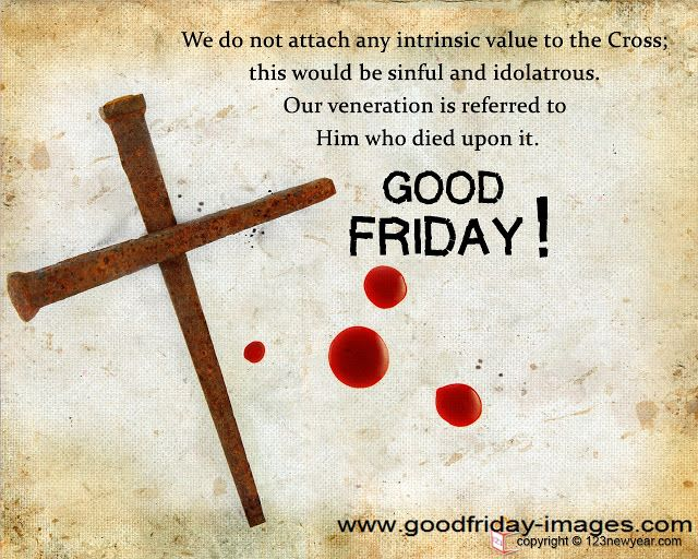 Good Friday Greeting Messages