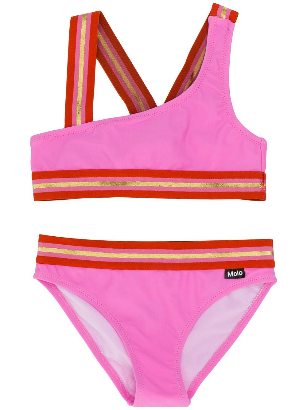 Molo Kids two-piece swimsuit – PINK