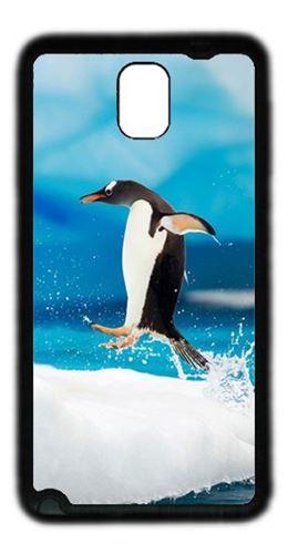 Penguin Jump Custom Case for Samsung Galaxy Note 3 TPU Material Black, $9.99