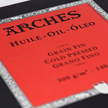Arches Oil Is A French Made 300 Gsm 140 Lb 4 Deckled Edge Paper