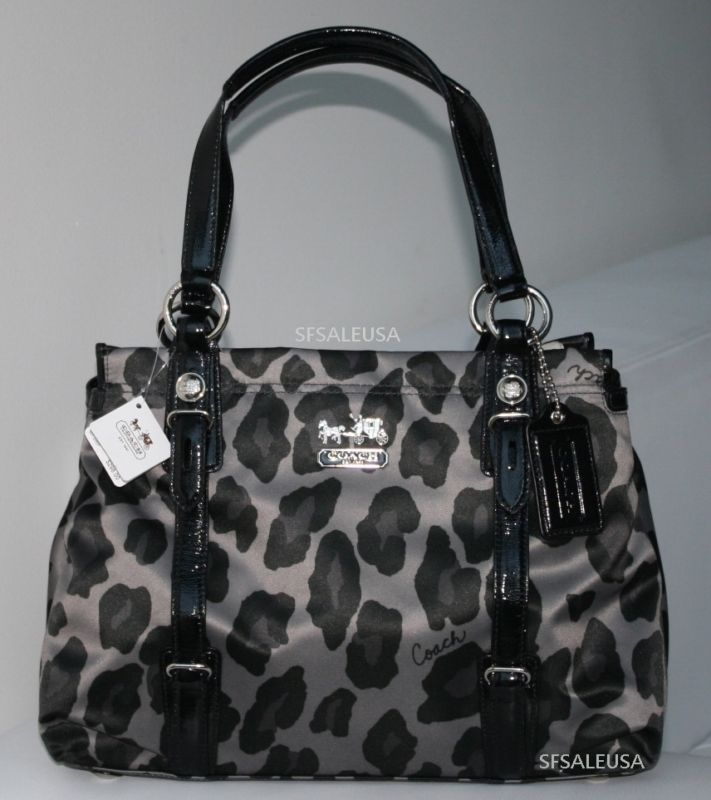 Authentic Coach Leopard Print Retail Therapy