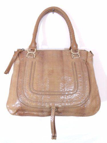Besso Brown Tan Snakeskin Luxury Italian Handbag Clothing Impulse