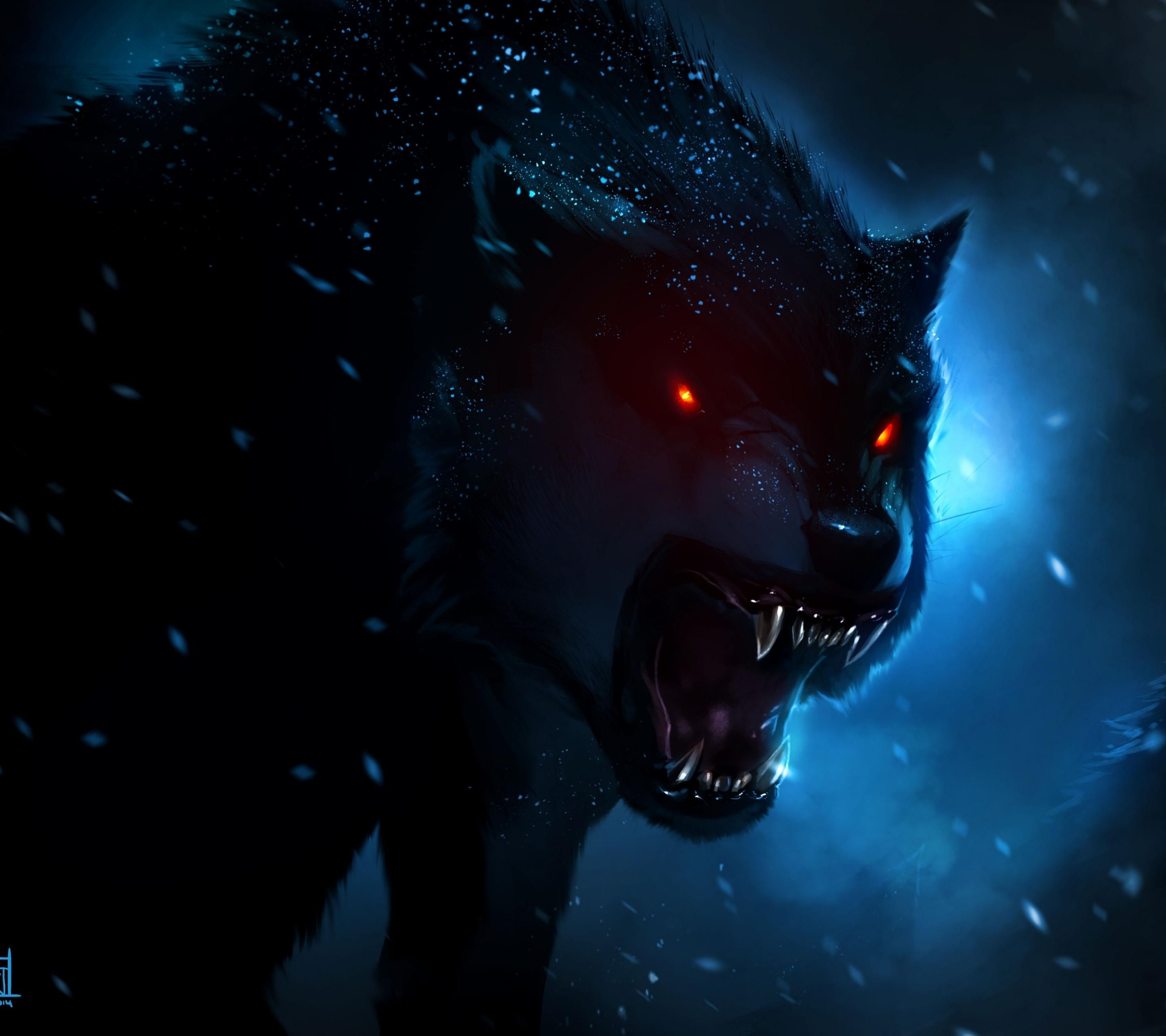 Wolf Hd Wallpaper For Mobile 43 Image Collections Of Wallpapers Wolf Wallpaper Fantasy Wolf Demon Wolf