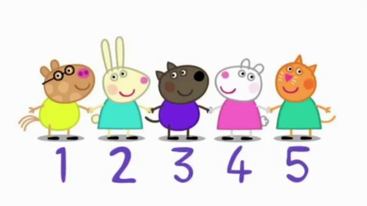 Peppa Pig Episodes Learn To Count Youtube Learn To Count Tracing Worksheets Preschool Peppa Pig [ 720 x 1280 Pixel ]