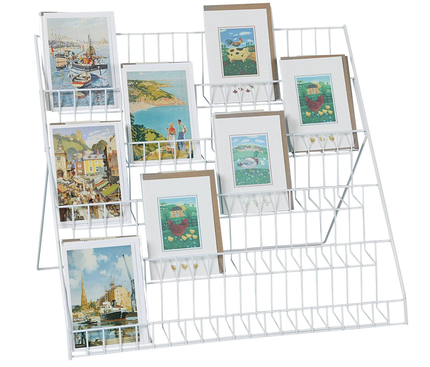Stand Store Lightweight Collapsible Greeting Card Display