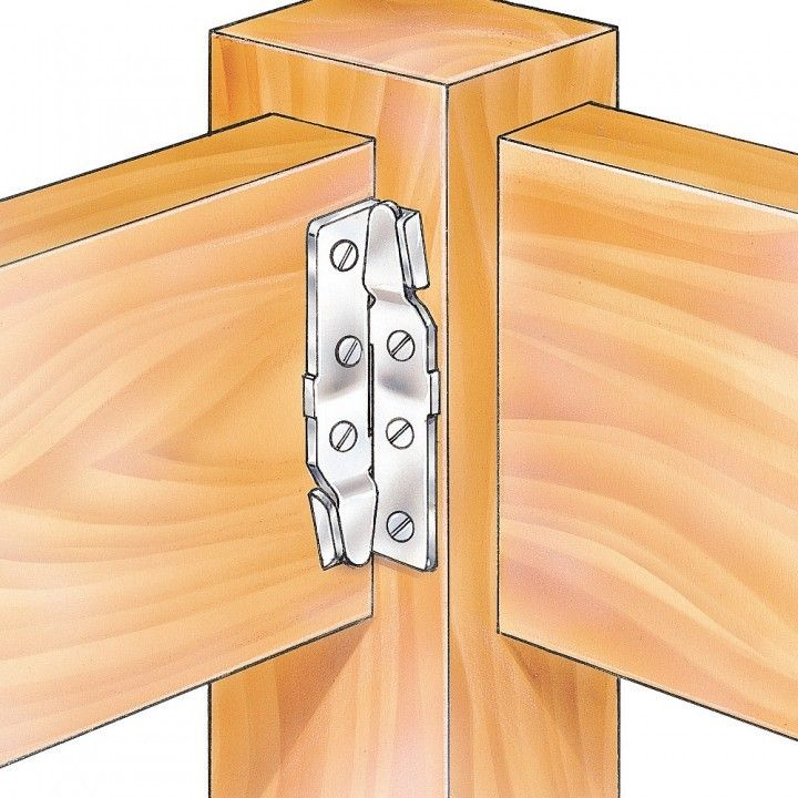 Surface Mount Bed Rail Brackets Woodworking Joints Bed Hardware