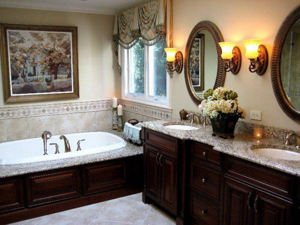High Quality 31 Beautiful Traditional Bathroom Design