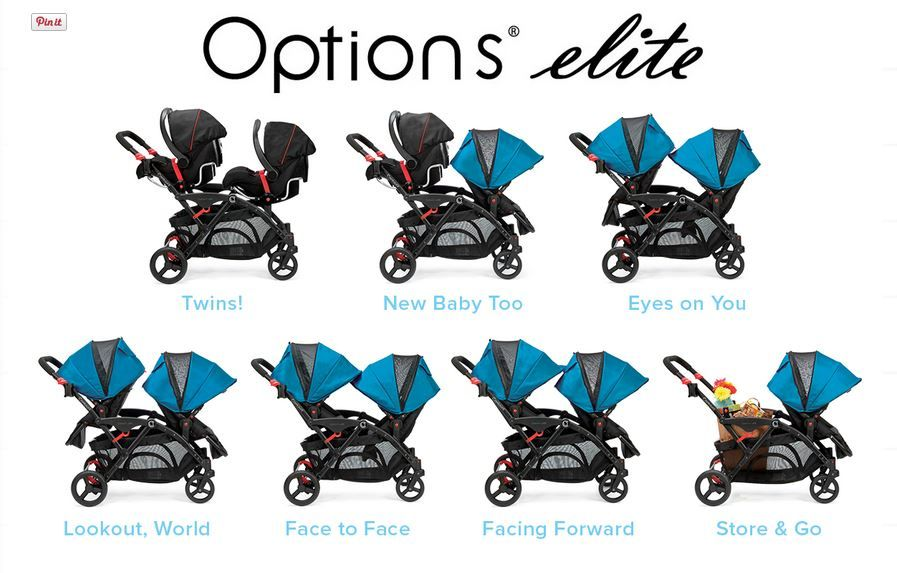 Tandem Stroller Double strollers, Double stroller for