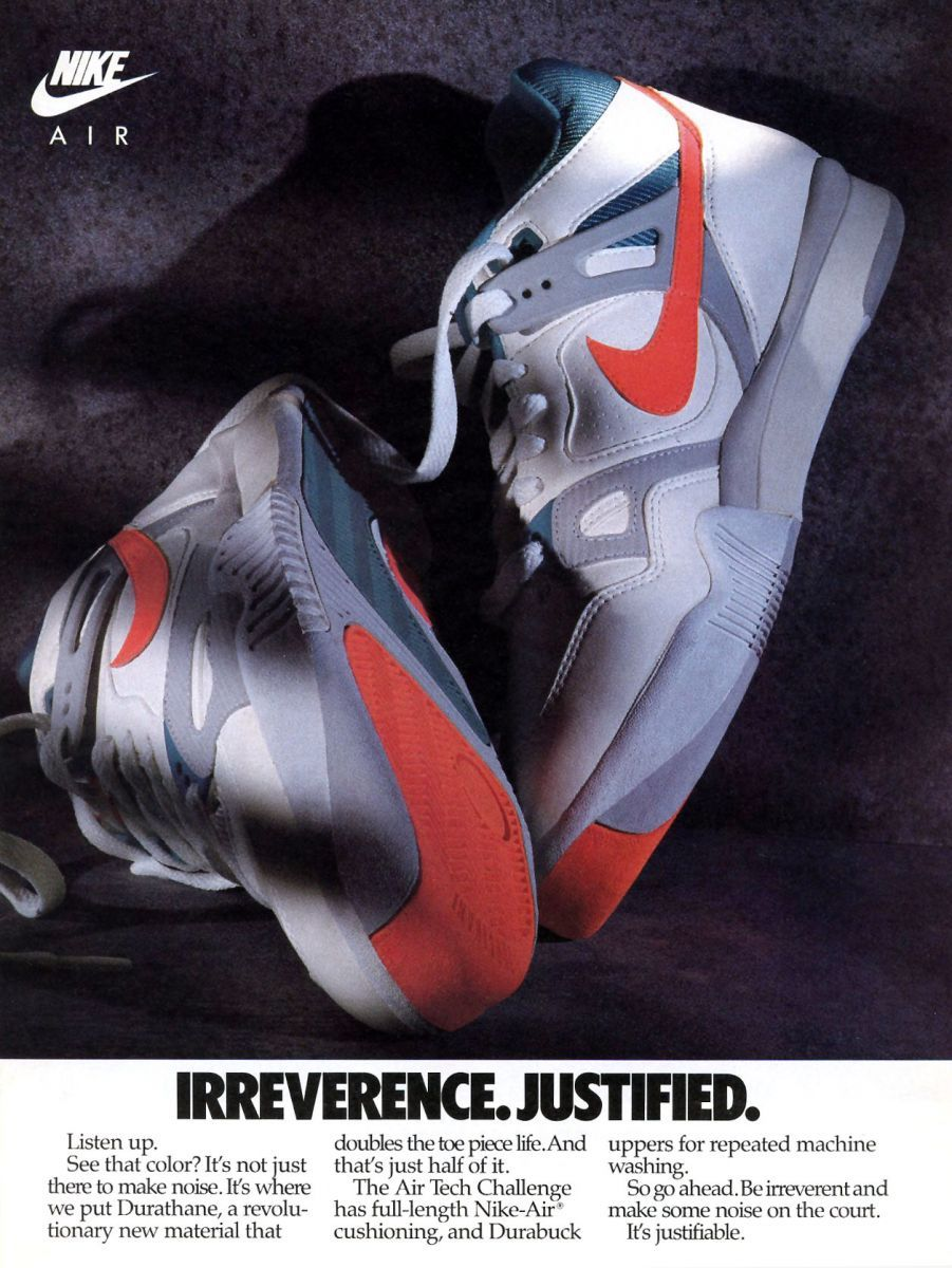 separation shoes 04b22 713aa Andre Agassis Nike Air Tech Challenge , vintage Nike