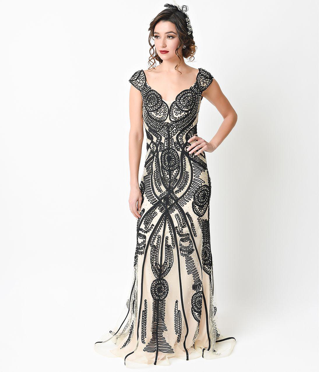 1930s Style Dresses Clothing Unique Prom Dresses 1930s Fashion Evening Gowns [ 1275 x 1095 Pixel ]