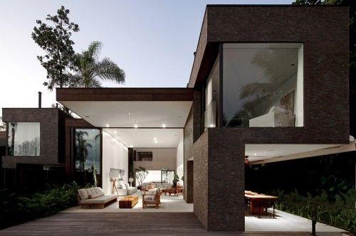 Casa Moderna Luxo Exterior Casa De Praia Moderna Arquitetura De