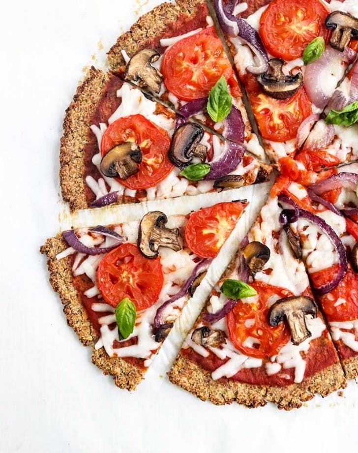 Plant Based Pizza — Cauliflower Pizza Recipe #purewow #pizza #dinner #vegetarian #vegan #plantbased #recipe #cooking #easy #food