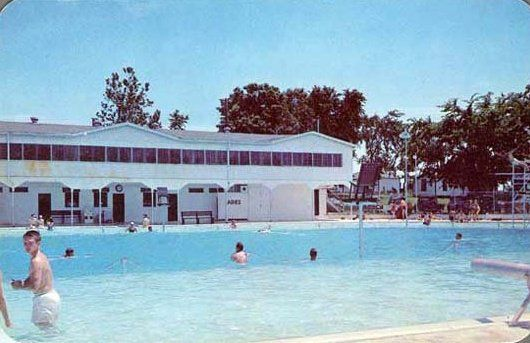 The old Fairgrounds swimming pool. | Memphis | Outdoor decor ...