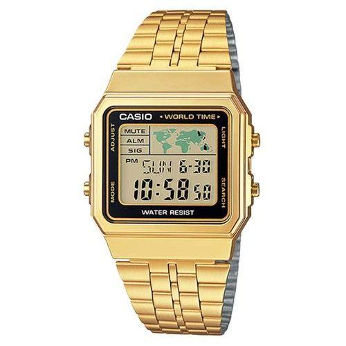 7a6bcb27868 Relógio Casio Feminino Vintage A500wga-1df