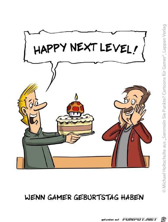 Wenn Gamer, Geburtstag haben.jpg | witzige Bilder | Pinterest