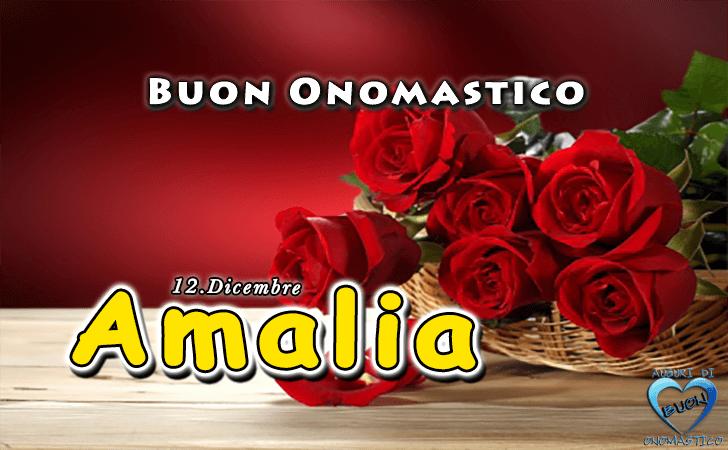 abbastanza Buon Onomastico Amalia! | BUON ONOMASTICO | Pinterest SX71