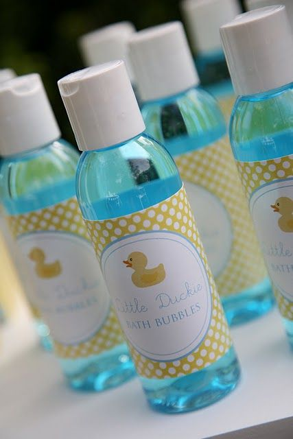 Bubble Bath Favors Rubber Ducky Party Theme Ducky Baby Showers