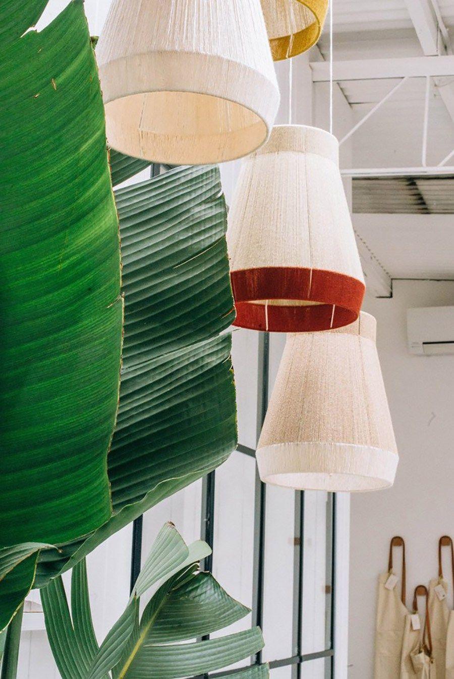 Inspiración: Lámparas tejidas  Idee salon, Abat jour, Deco