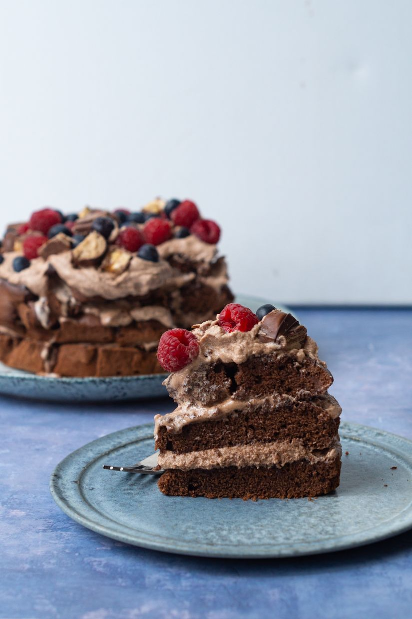 Chokoladelagkage Opskrift Med Billeder Dessert Mad Ideer Laekre Kager