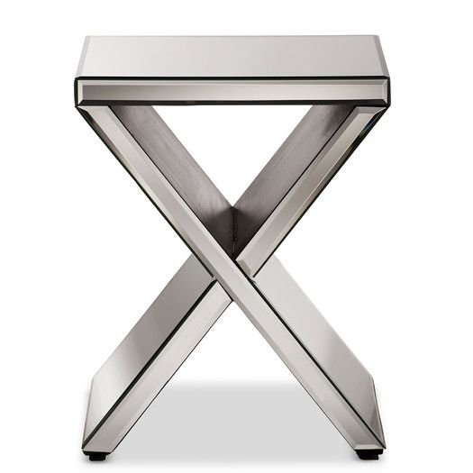 Wholesale Interiors Baxton Studio Morris End Table