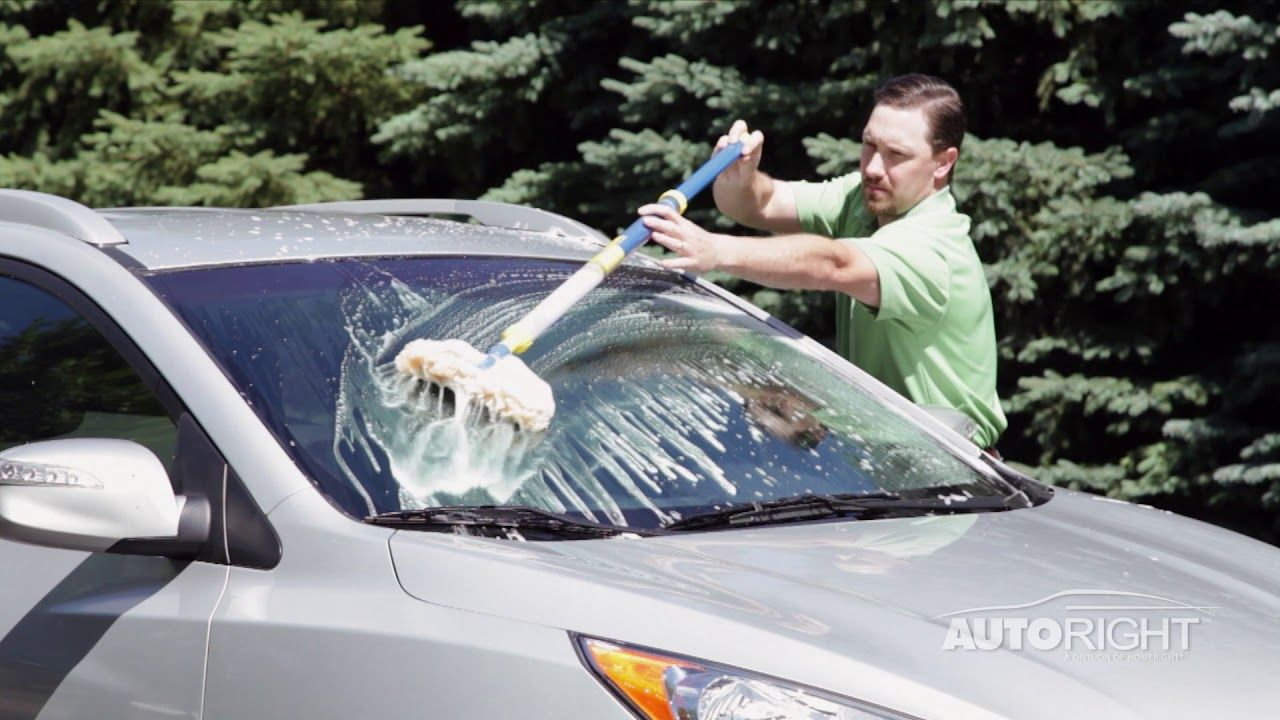 AutoRight Auto Wash Stick Vehicle Cleaning Tool Car wash