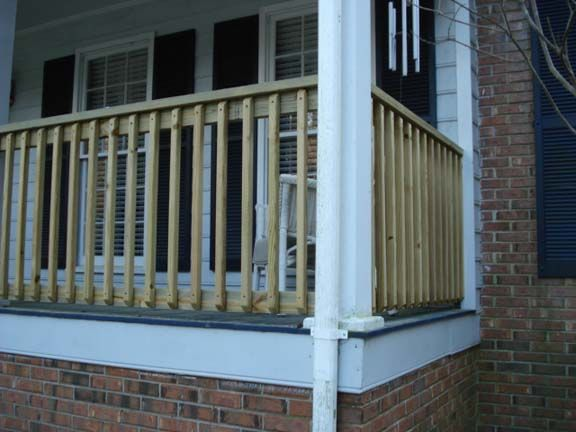 Best Pressure Treated Simple Wooden Railing System Diy Home 400 x 300