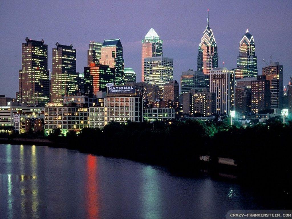 Обои филадельфия, philadelphia, ночь, сша. Города foto 19