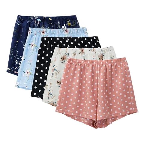 fashion floral chiffon shorts