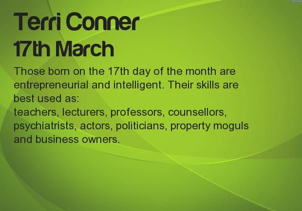 What your Birthday says about your career? Find at http://apps.ifunster.com/birthday_say_about_career