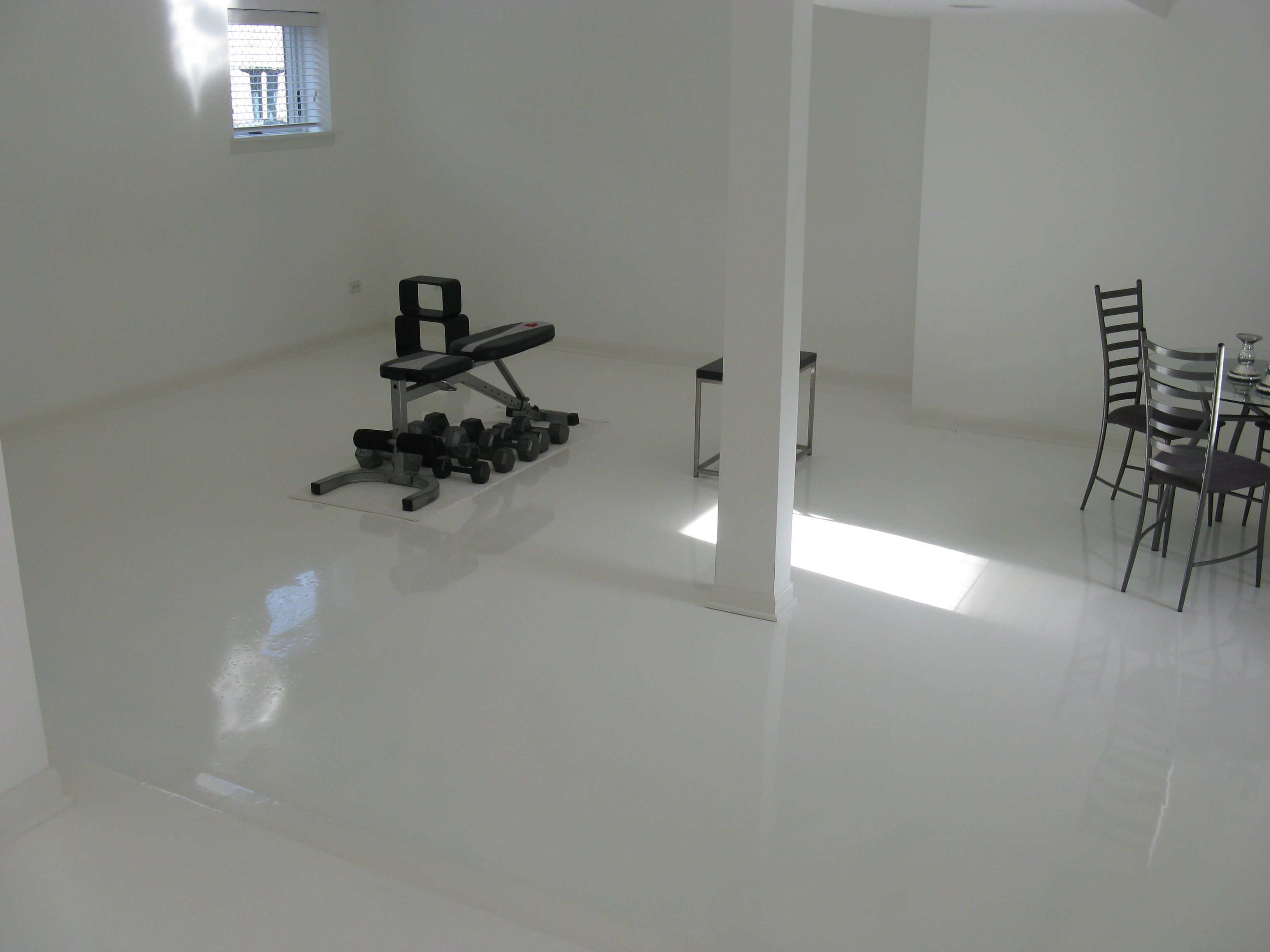 epoxy flooring basement. For More Epoxy Flooring Inspiration Visit Www.broadleafinc.com. Basement N