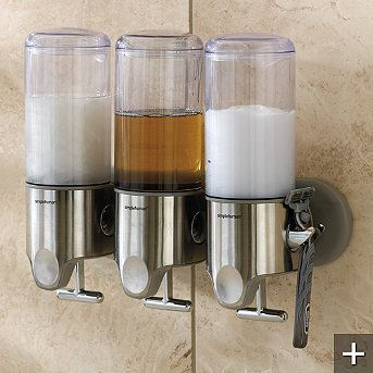Triple Shower Dispenser By Simplehuman I Don T Have This Exact