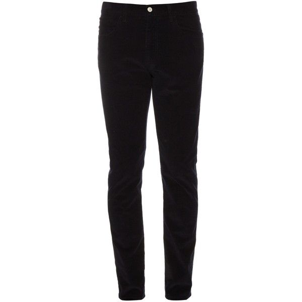 Gucci Slim-leg corduroy trousers (1.448.125 COP) ❤ liked on Polyvore  featuring men s fashion 69e3d8757517