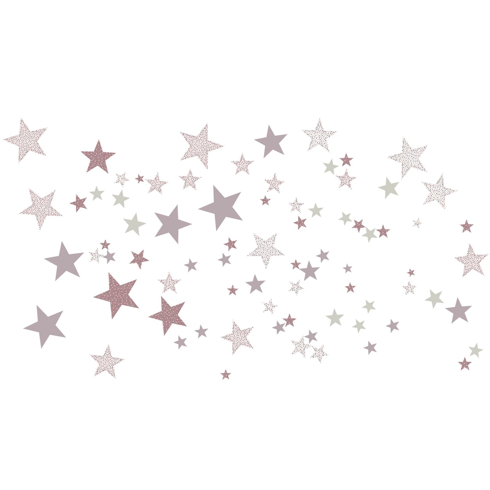Stickers etoiles constellation rose stickers etoile - Stickers etoile chambre bebe ...