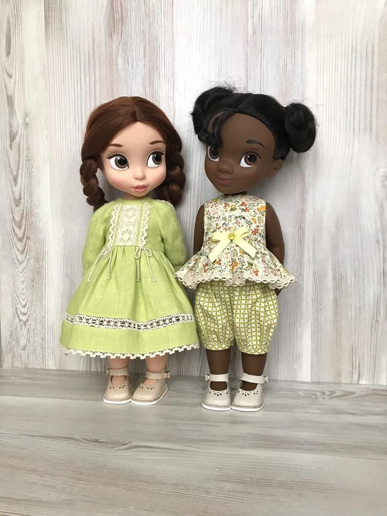 """Clothes for Disney dolls 16/"""" Set of clothing from a sweatshirt and pants."""
