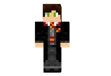 Harry Potter Gryffindor Skin Minecraft 1 9 1 8 1 7 10 Harry Potter Minecraft Harry Potter Gryffindor Gryffindor