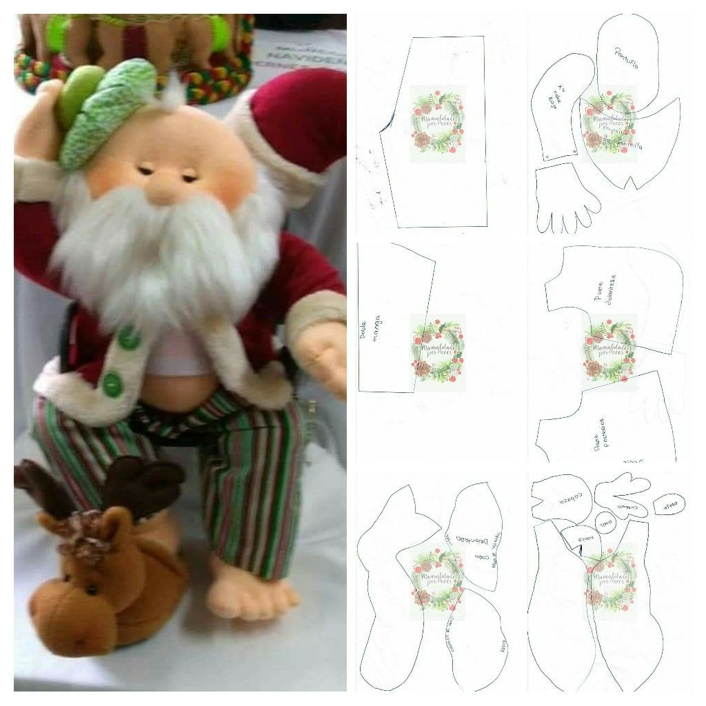 Papá Noel con resaca | papá Noel con resac | Pinterest | Navidad ...