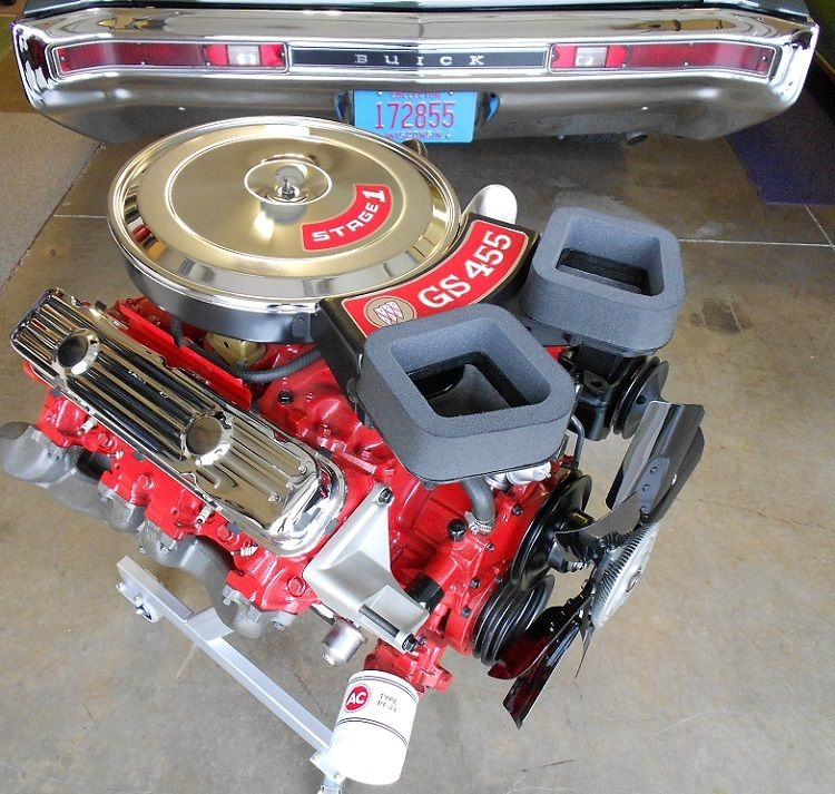 455 Buick Stage 1 Engine … Buick gsx, Engineering, Race