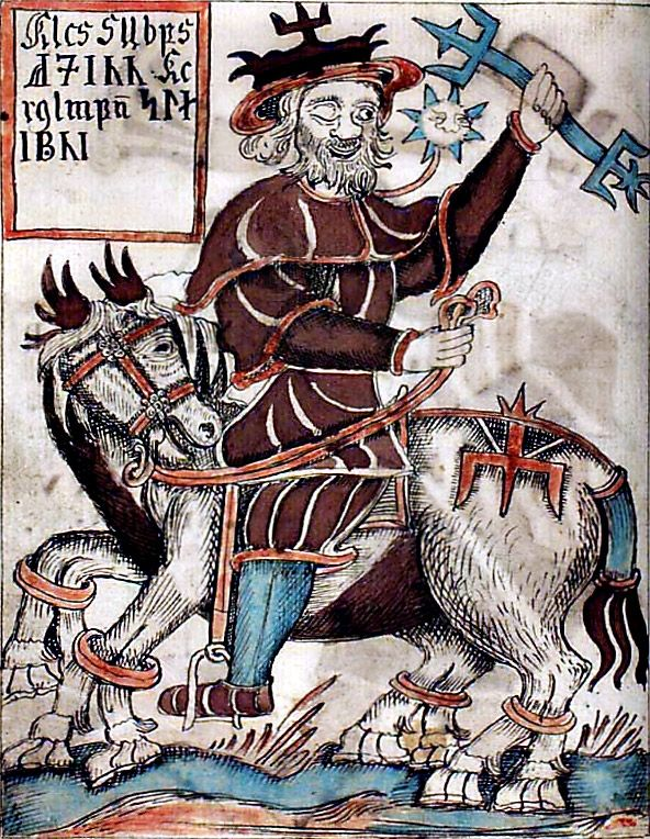Sleipnir Odin/'s Ross-Wotan Thor Asgard Vikings TS Valhalla met moyen âge