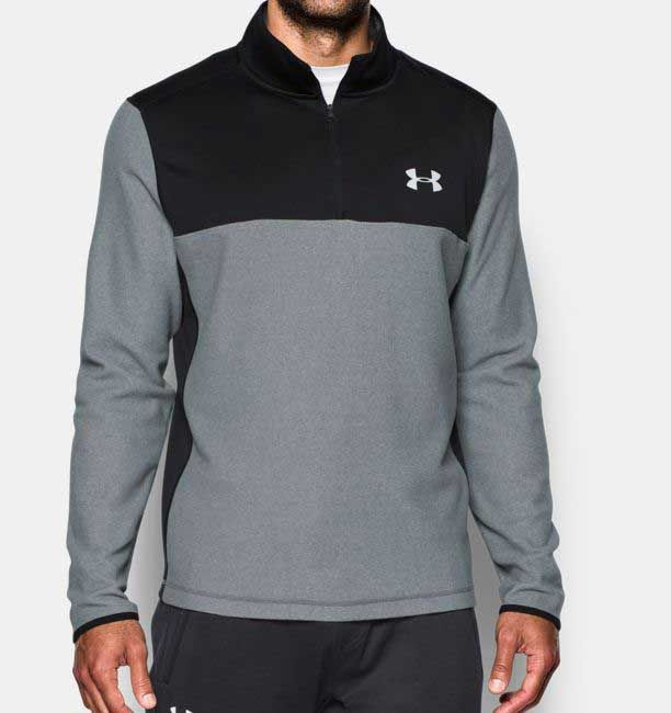 Lumberfield Winter Hiking Climbing Outwear 2 Layers Full Zip Mens Jacket Plush Fleece Jacket