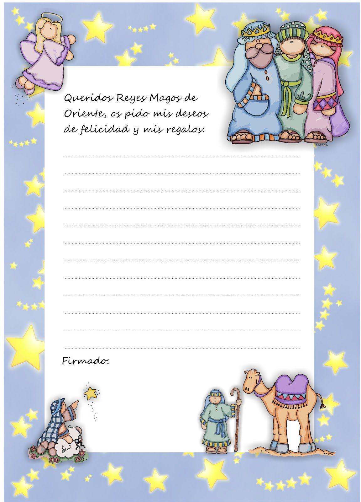 Dias De Reyes Magos Descargar descarga gratis carta a los reyes magos | cartas reyes magos