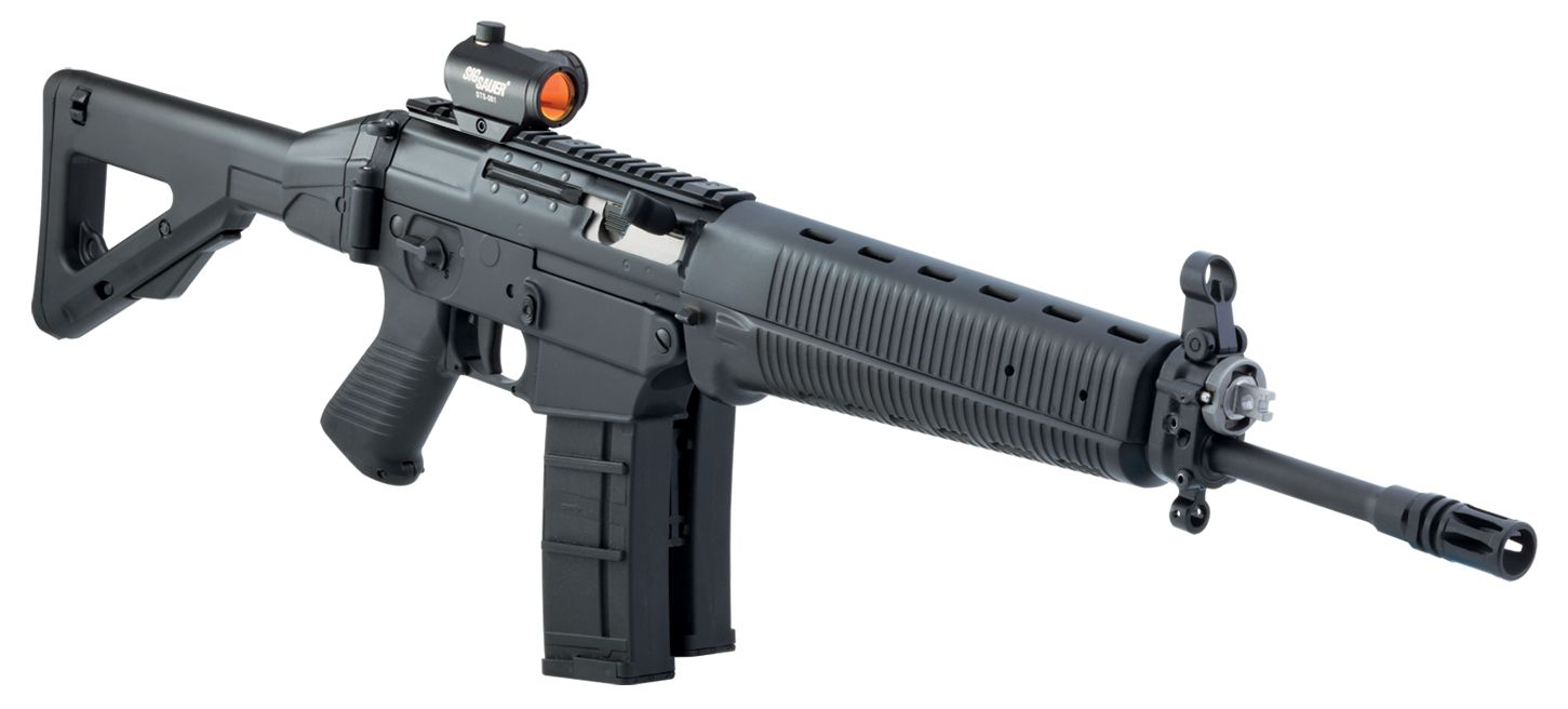 Sig Sauer 556 Rifle. I got to play with one of these the ...