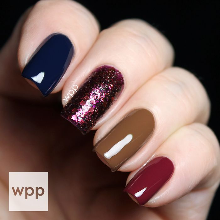 Zoya Fall Flowers with Entice and Noir Ultra PixieDust : work / play ...