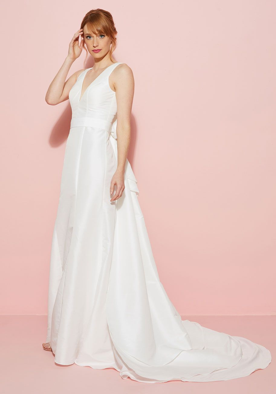 You May Now Bliss the Bride Dress in White | Married in ModCloth ...