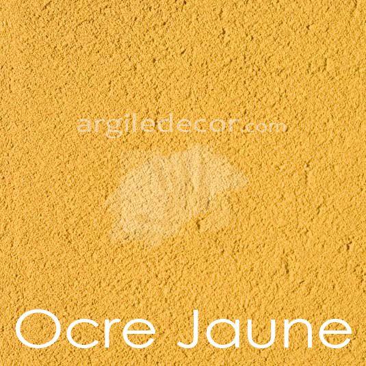 Enduit à l\'argile, couleur: Ocre jaune   Couleurs enduit à l ...