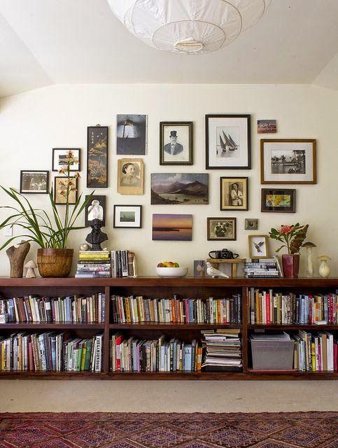 10 fotos de librerías para el salón | Amantes de la lectura ...
