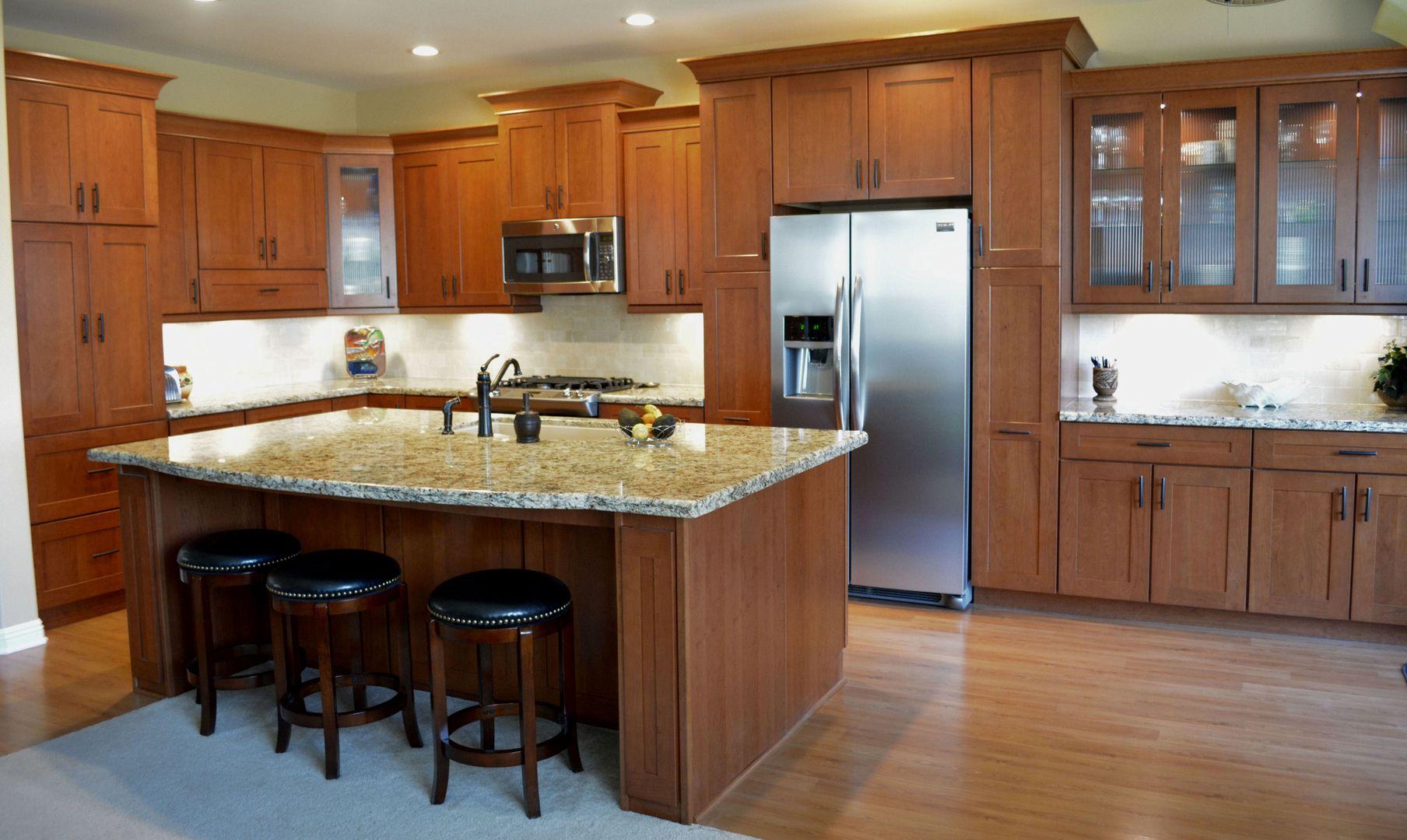 Photos   Open floor plan kitchen, Kitchen remodel, Kitchen