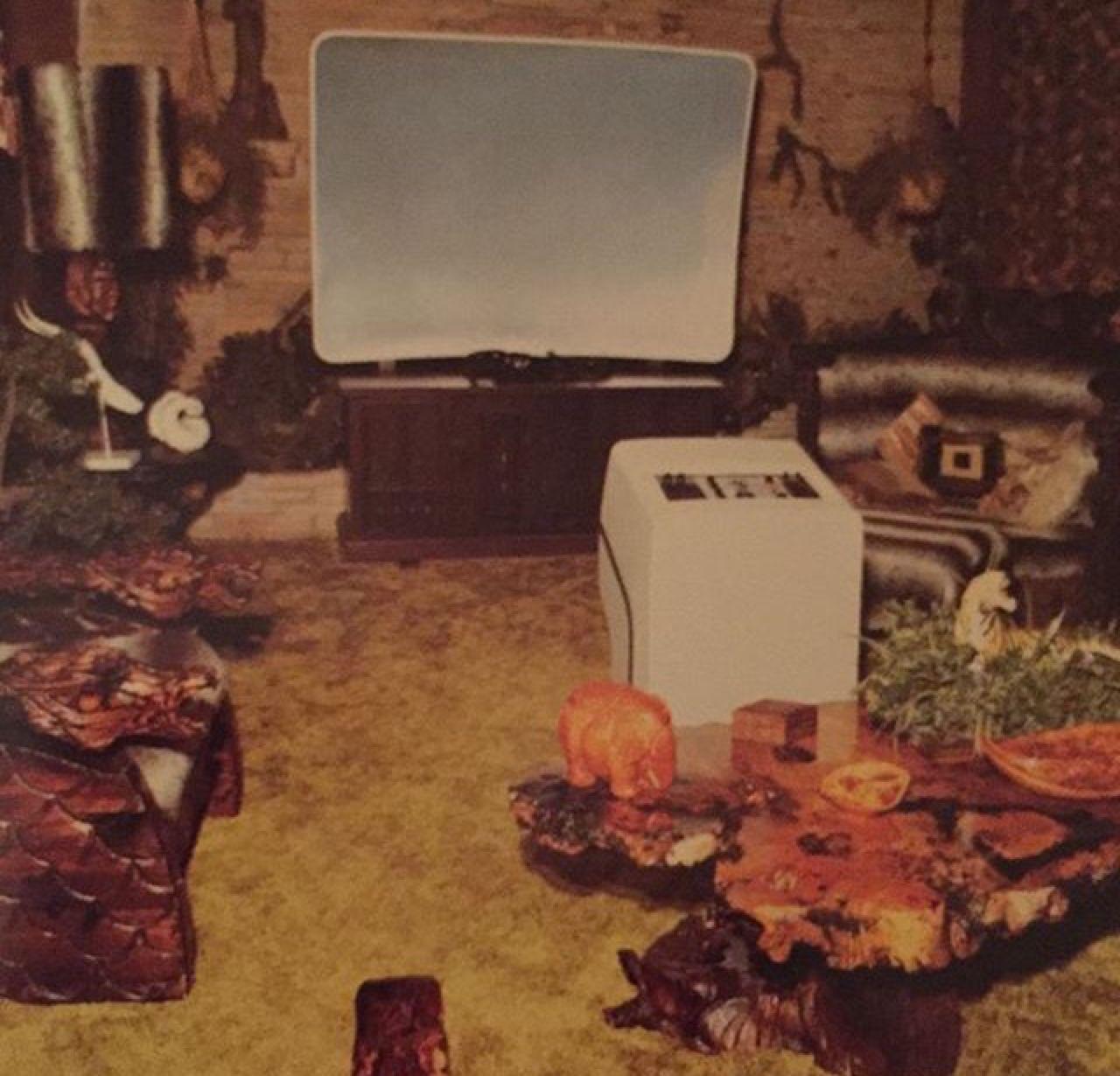 The Jungle room, Graceland 1982 From Instagram:... - Elvis never left