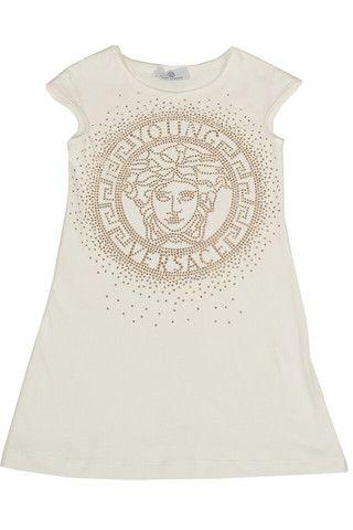 Girls Medusa White Dress at PureAtlanta.com
