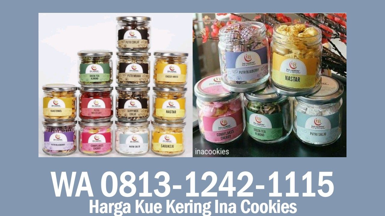 Harga Kue Kering Ina Cookies Wa 0813 1242 1115 Di 2020 Kue Kering Telepon Pesan